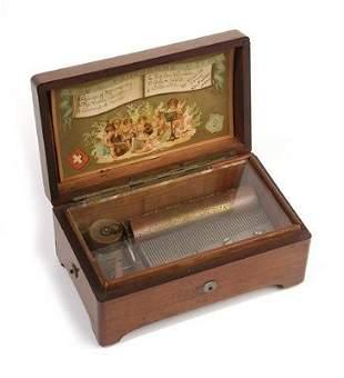 1: SMALL CYLINDER MUSIC BOX