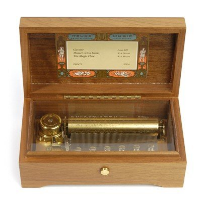 3: SMALL REUGE CYLINDER MUSIC BOX