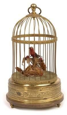 9: SINGING BIRD IN CAGE