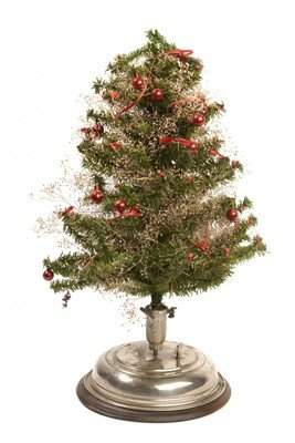 18A: LADOR MUSICAL CHRISTMAS TREE STAND W/TREE