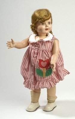 19: WIND-UP WALKING AND TALKING DOLL