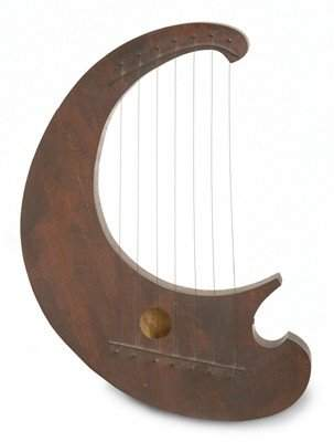 22: MUSICAL LYRE TYPE 7 STRING INSTRUMENT
