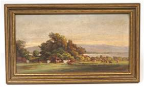 125 THOMAS CAMPBELL TENNESSEE OIL PAINTING