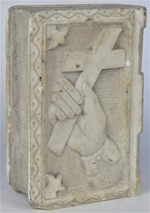 Folk Art Marble Book