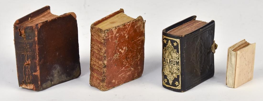Three Miniature Books Plus