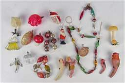 Early Blown Glass Christmas Ornaments Plus