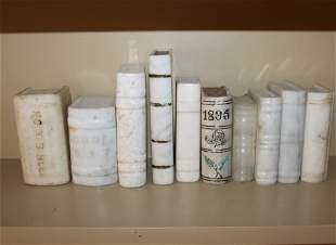 Ten Stone and Marble Books