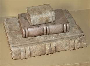 3 Stone and Marble Books