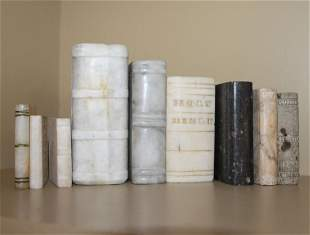 Nine Stone and Marble Books