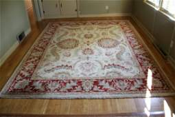 Contemporary Hand Knotted Oriental Rug