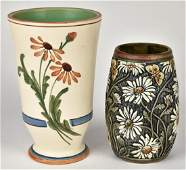 Two Weller Pottery Vases