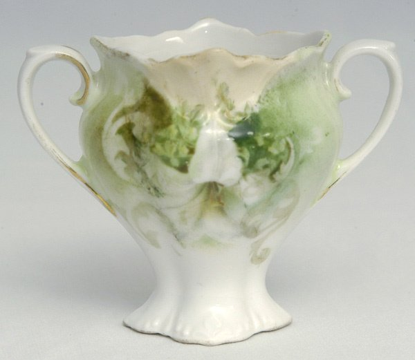 205: RS Prussia Toothpick Holder w/ Floral Dec.