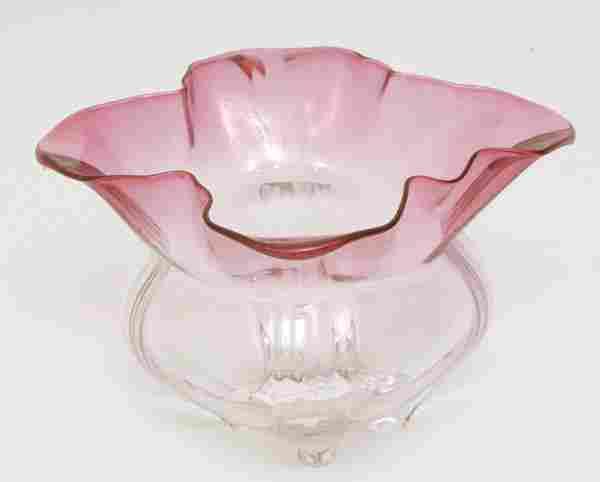 Steuben Art Glass Grotesque Bowl