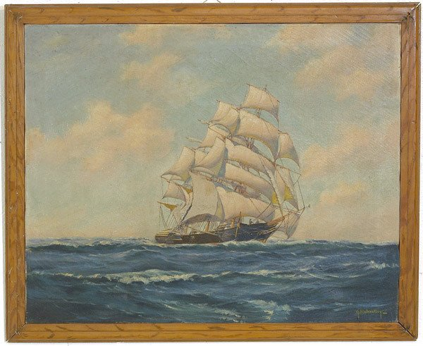 215: G.H. Wheatley, 20th Century American Oil Painting