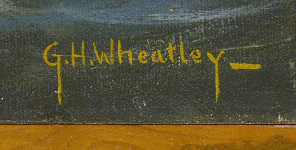 215: G.H. Wheatley, 20th Century American Oil Painting - 2
