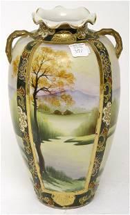 "12 1/2"" Nippon Vase"