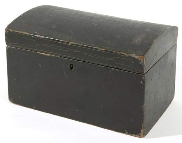 11: EARLY WOODEN BOX