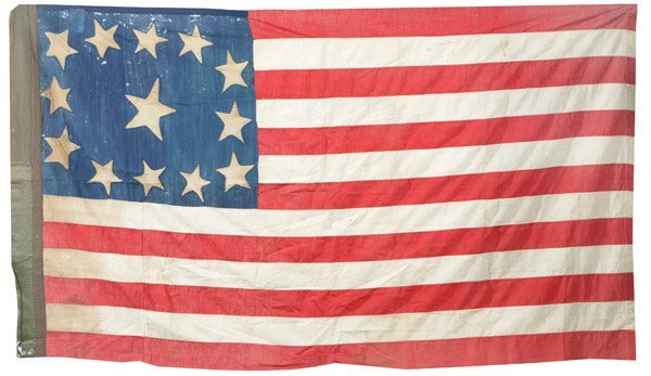 111: 13 STAR AMERICAN NATIONAL FLAG