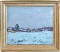 237: FRANK H. MYERS (OHIO/CALIFORNIA) OIL PAINTING