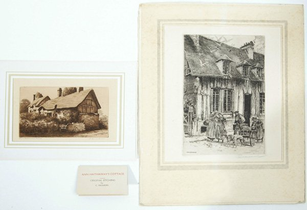 1279: PAUL ASHBROOK AND C. DICKENS ETCHINGS