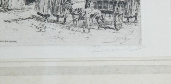 1279: PAUL ASHBROOK AND C. DICKENS ETCHINGS - 2