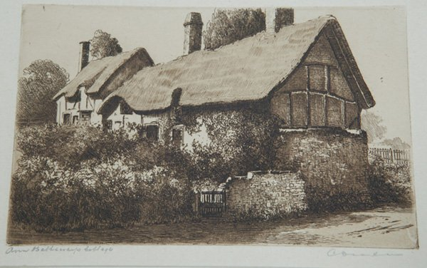 1279: PAUL ASHBROOK AND C. DICKENS ETCHINGS - 5