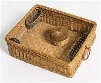 Shaker Sewing Basket