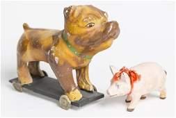 Pug Pull Toy Plus