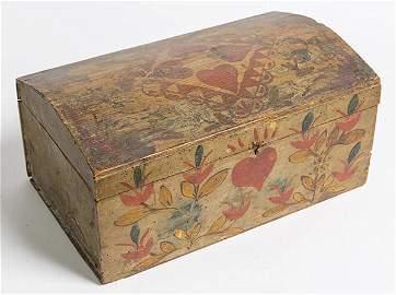 Maine Decorated Document Box