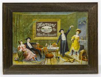 Rare Harvard Rye Whiskey Sign