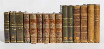 Three Leather Bound Sets of Books