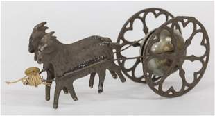 Victorian Goat Pull Toy