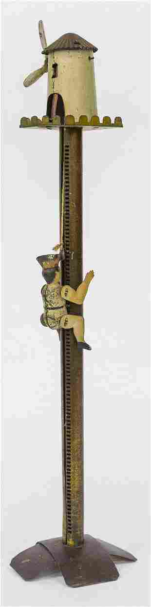 Tin Pole Climbing Toy
