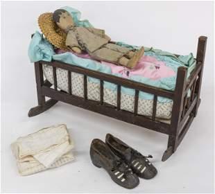 Doll Cradle & Doll Plus