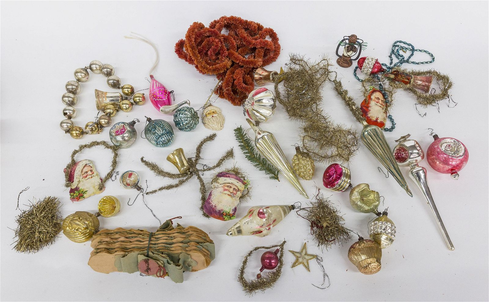 Box of Early Christmas Ornaments
