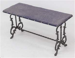Cast Iron Window Bench