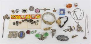 Lot of Sterling & Other Jewelry