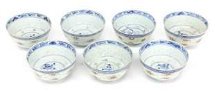 Japanese Porcelain Rice Bowls