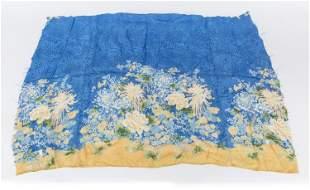 Japanese Printed Silk Scarf