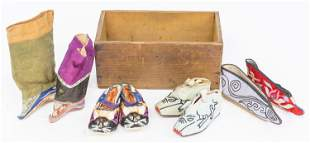 Early Chinese Ladies Shoes
