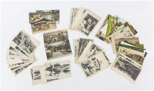 Early Chinese & Japanese Post Cards