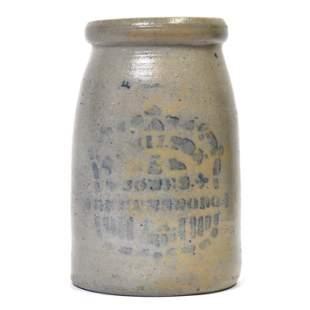 Hamilton & Jones Stoneware Jar