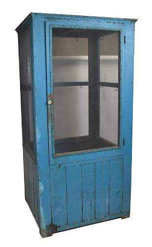Country Store Ham Display Cabinet