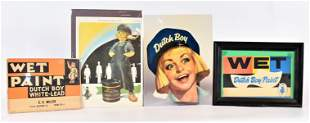 Four Dutch Boy Advertising Pieces