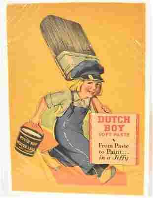 Dutch Boy Card Stock Display