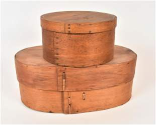 Early Bentwood Pantry Boxes