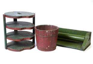 Painted Wood Kitchen Items