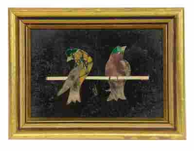 Pietra Dura Birds