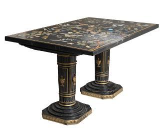 Pietra Dura Console Table