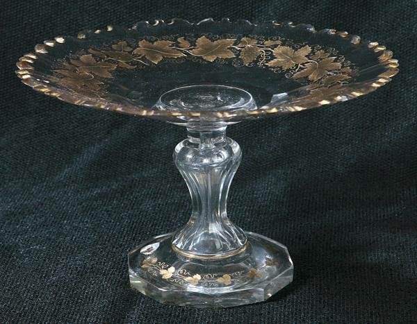11: PITTSBURGH CUT GLASS TAZZA